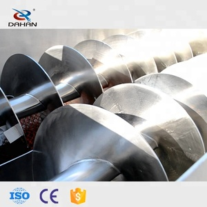 China Grain Auger Twin Screw Conveyor For Sale