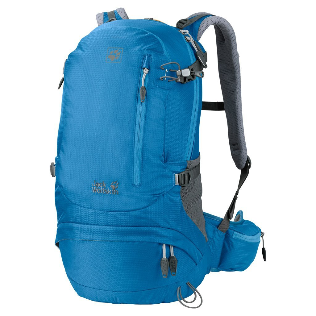 Jack Wolfskin ACS Hike Pack Rucksack Ocean Blue 26 L