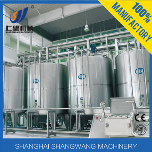 Hot sell pasteurized milk production equipment/Complete yogurt production line