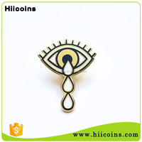 Wholesale Europe Feature Best Selling Items Crying Eye Hard Enamel Lapel Pin