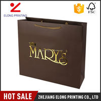 New product good quality cheap brown wholesale shopping packing paper bags