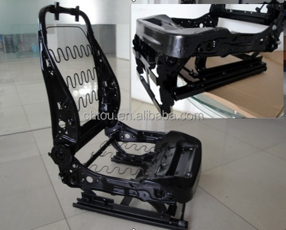 Luxurious Adjustable Auto Power Seat Frame For SUV