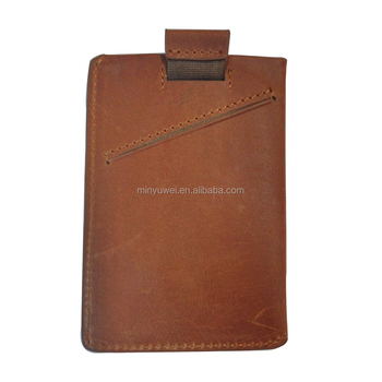 2f54077546ce Best Mens Personalized Thin Front Pocket Credit Card Holder Genuine Leather  Slim Card Case Small Minimalist Wallet With Rfid - Buy Best Mens ...