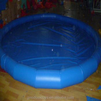Large customized size inflatable swiming pool made in for Large size inflatable swimming pool
