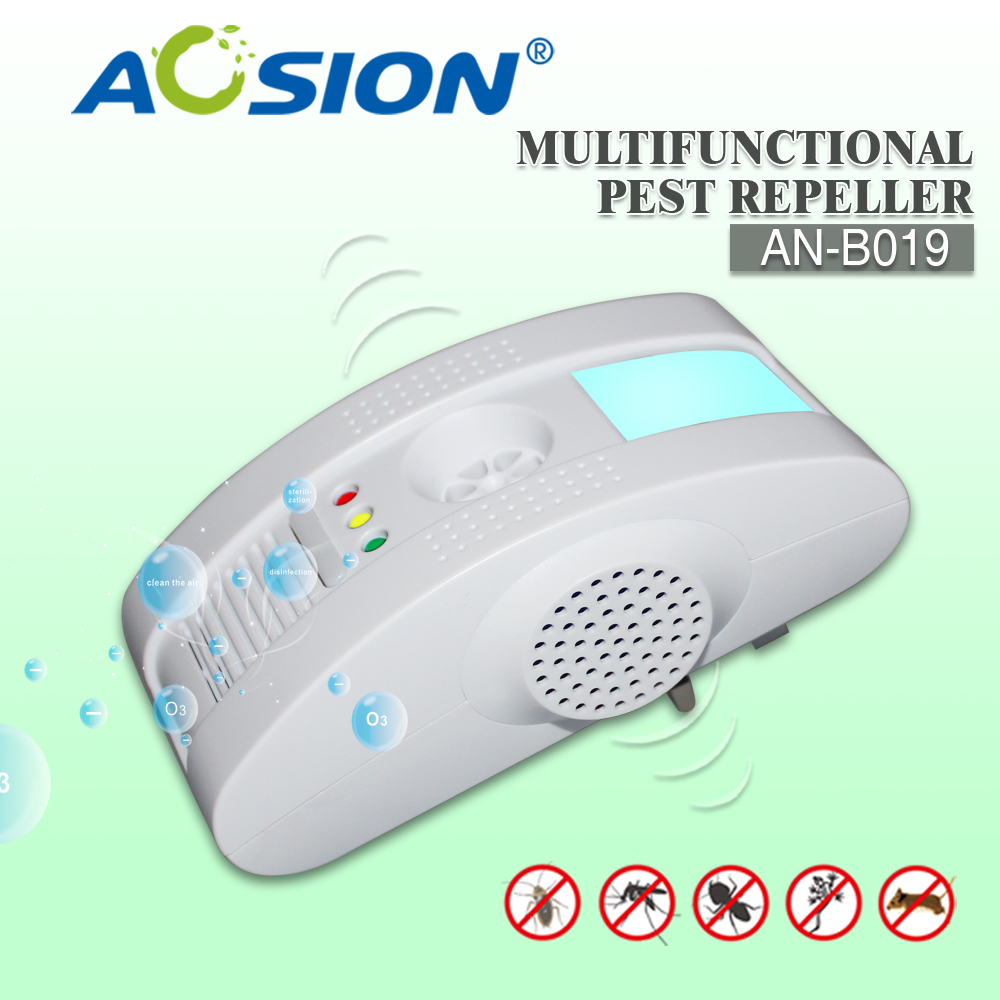 Pest Repeller - Repels Rodents and Insects, Repel Mice, Rats, Moths, Bats And More Device