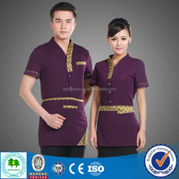 2016 Hot Sale Wait Staff Uniforms Restaurant, Resturant Clothes, Fast Food Staff Uniform