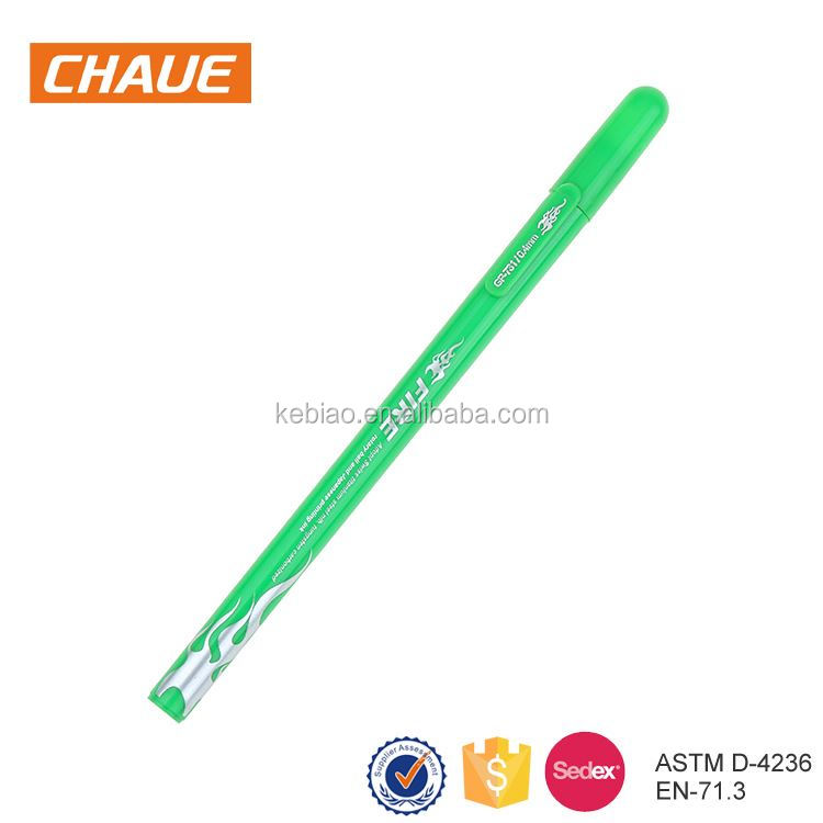 China personalized multicolor plastic liquid pen