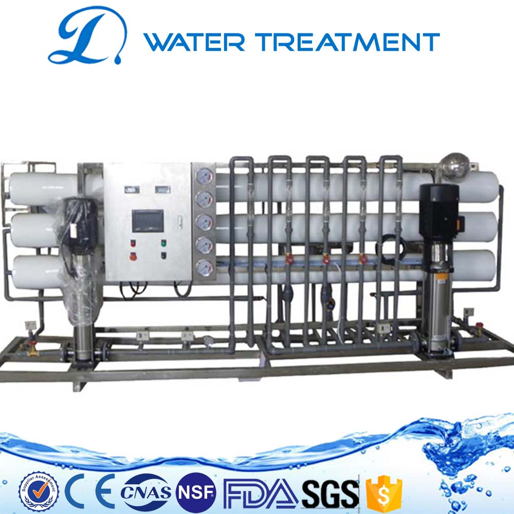 Professional ocean water treatment plant namely seawater desalination RO plant LDWT7001
