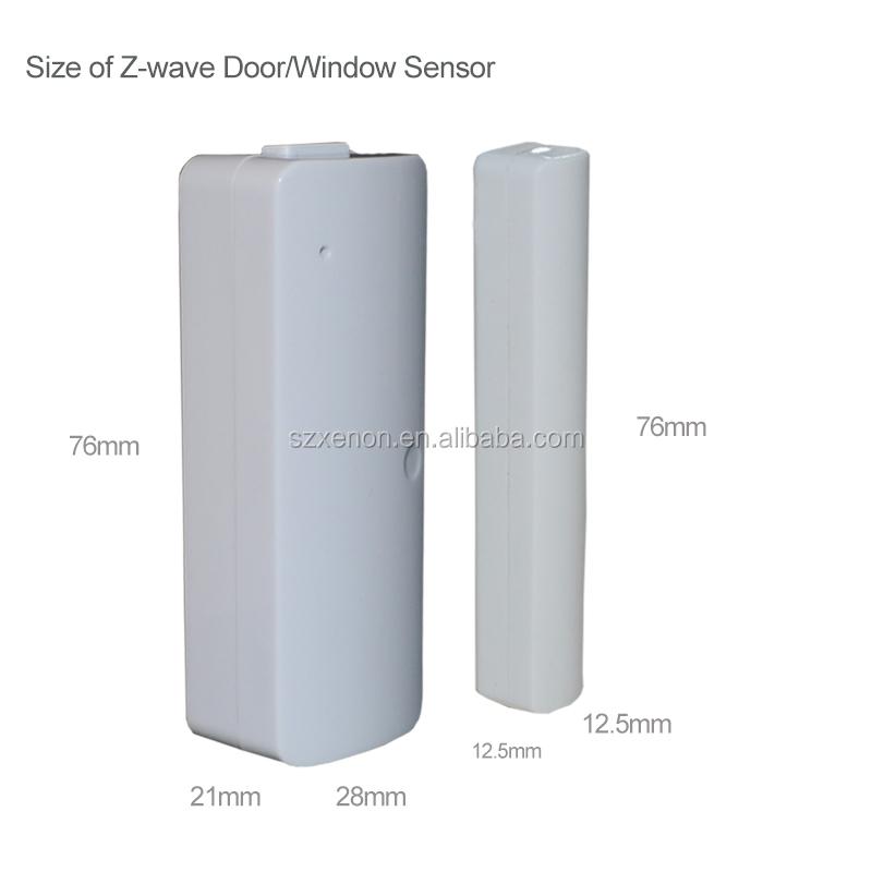 868.42/908.42 Mhz zwave wireless z-wave door sensor z-wave door/ window sensor
