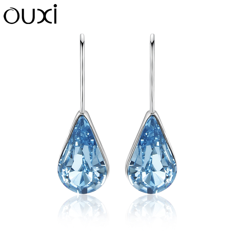 Hot promotion cheap dangle stone earrings crystal earrings for party