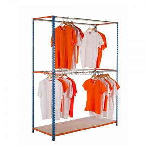 Clothes and trousers garment racks light duty shelving made in China