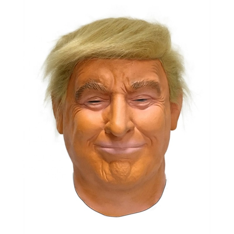 Hot Selling Factory Outlet Maat Halloween Party Unieke Celebrity Latex Donald Trump Masker
