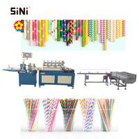SINI MC510 High Speed Multi-cutters Paper Drinking Straw Making Machine