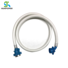 PVC White Washing Machine Drain Water Inlet Hose