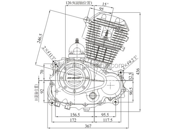 genuine air cooled 200cc zongshen engine and motorcycle engine view rh cqlihan en alibaba com 200Cc Scooter Engine 200Cc Chinese ATV Engine Diagram