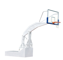Hot sale hydraulic basketball stand electric retractable basketball goal