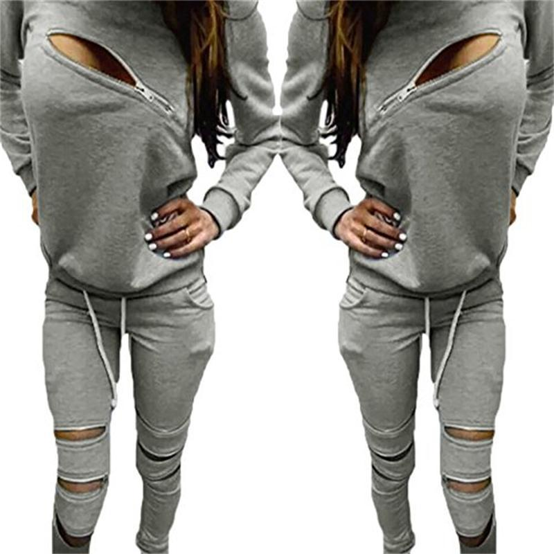 Sexy sweat suit