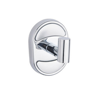 New style bathroom single wall mount robe hook stainless steel