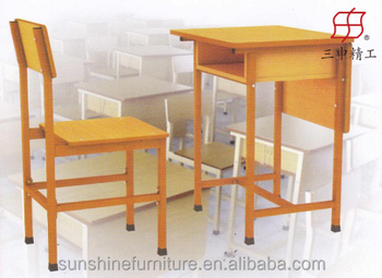 Cheap Used Wooden School Furniture Type Teacher Desk And Student Desk And  Chair With High Quality - Buy Used School Desks Cheap,Student Desk And ...