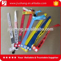 Personalized pvc disposable wrist strap wholesales