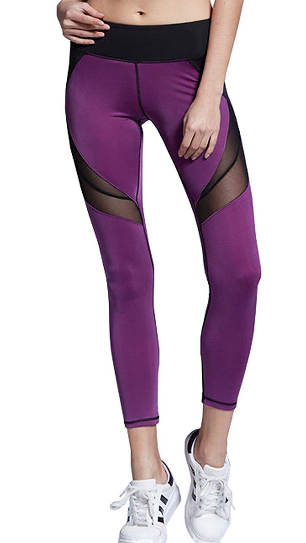 Alisa.Sonya Nylon Spandex Women's Sport Yoga Legging