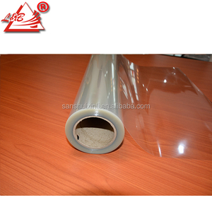 Clear PET Double Sided Adhesive Cold Laminating Film For Photo