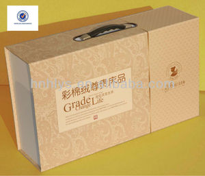 HOT Sales Custom Home Textile Gift Boxes With Handle