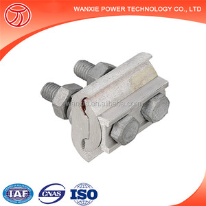 Aluminium parallel groove clamp clip/cable wire link accessories/cable splicing fitting