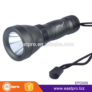 Cost effective super bright professional T6 LED 5 Modes rechargeable dive torch