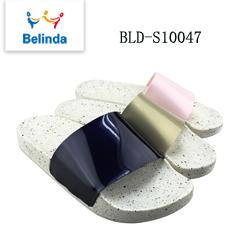 Designer Oem Slippers Woman PVC Slide Sandals Made Printed Logo Custom Shoes