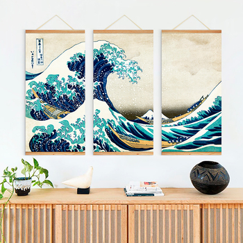 Famous Japanese Wall Art Printing Painting For Living Room - Buy Paintings  For Living Room Wall,Printing Painting,Japanese Painting Product on