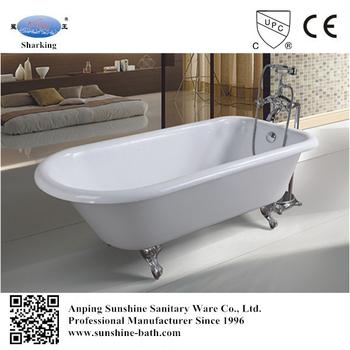 Kids Bath Tub,small Freestanding Custom Size Retro Roll Top Bathtub
