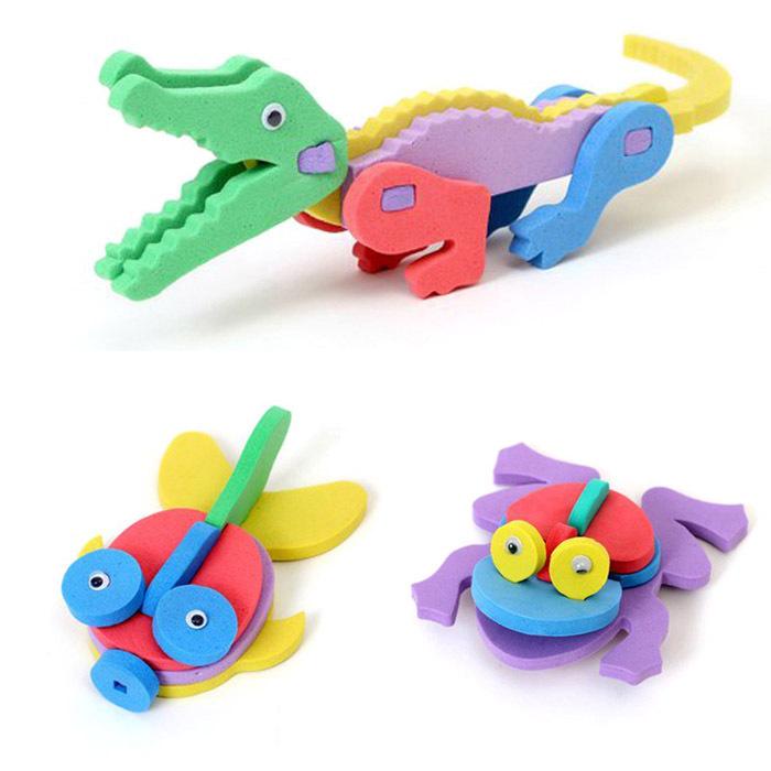 Storage Box Kids Handmade Toy Pen Holder Diy 3d Mini ...