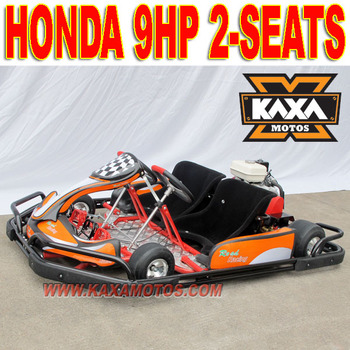 270cc 9HP Gas Go Karts with roll cage