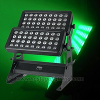 high power outdoor wash light 72x10w rgbw led wall washer