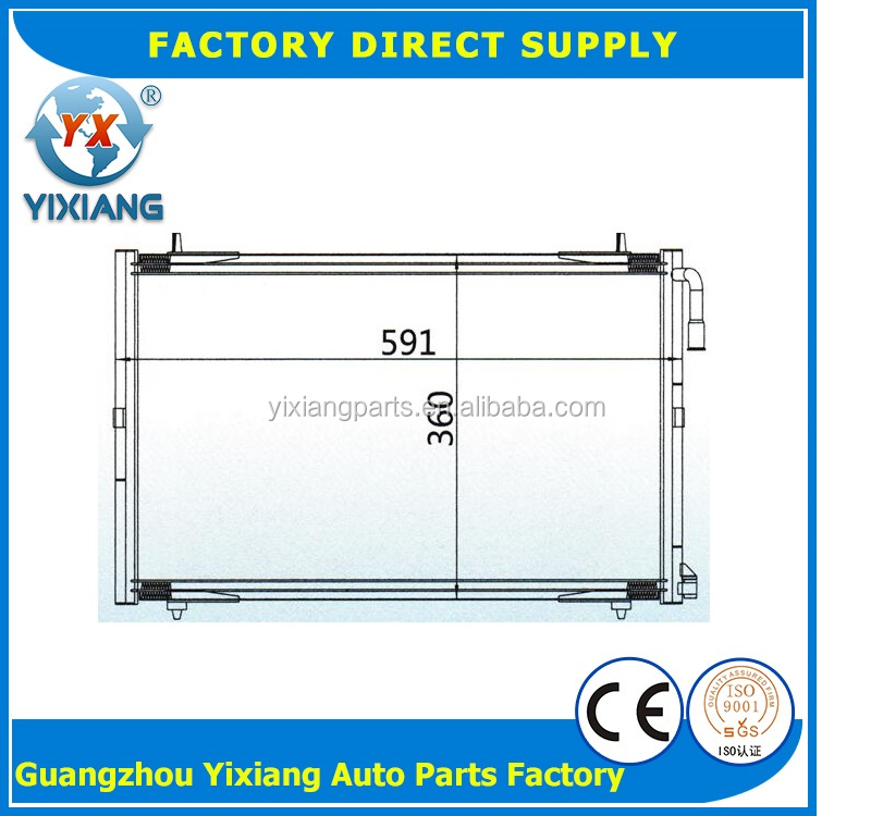 Refrigeration evaporator condenser price for PEUGEOT