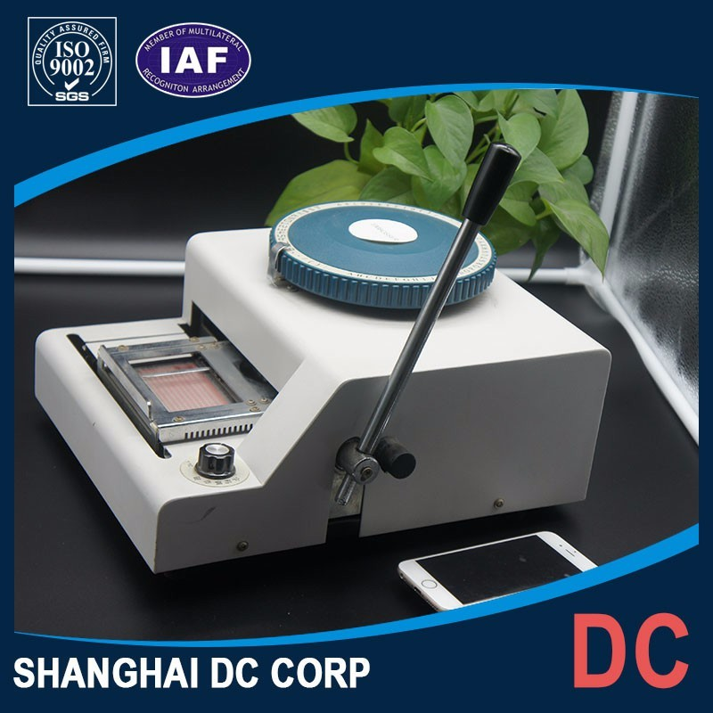 Competitive Price Factory Plastic PVC Card Printer Embosser