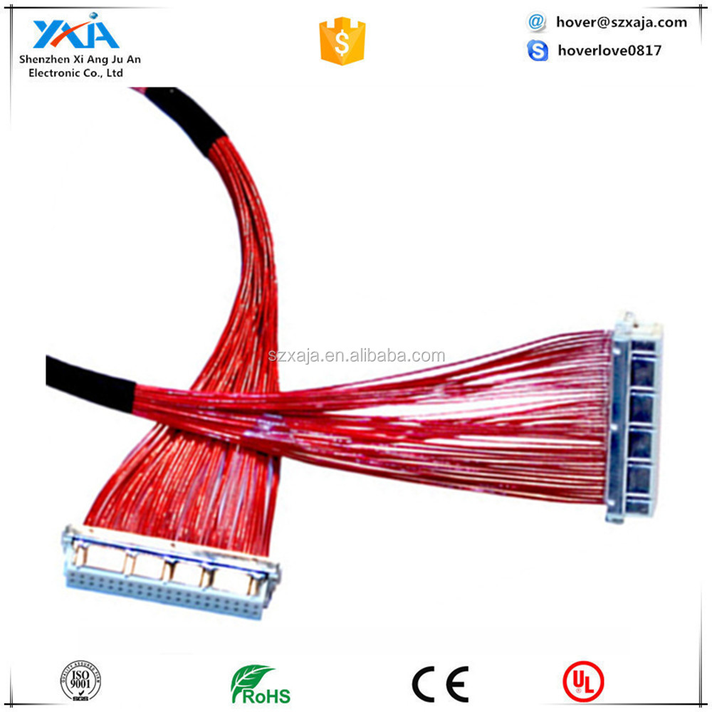 Shielded Wire Harness Application Note Wiring Grounding And Shielding Jst Df Connector Df13