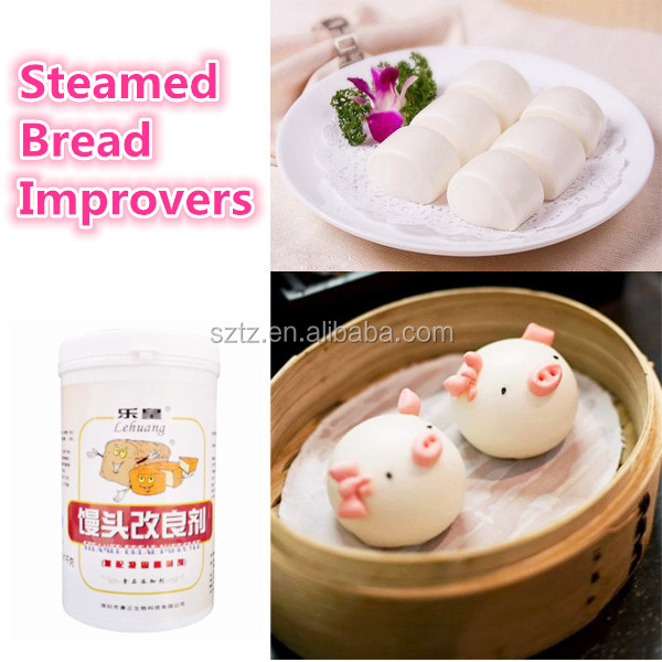 halal food Grade quick risen double effect for bread/Cake/Pastry/Baking improver Super-soft Type steamed bread improver powder