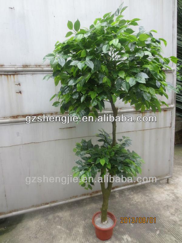 Artificial Plants Artificial Small Tree Indoor Plant Ficus Tree ...