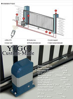 Automatic House Main Gate Designs / Steel Gate Design Home - Buy ...