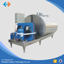 Stainless Steel horizontal type Milk direct Cooling Tank