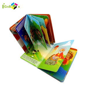 Customize Coloring Professional Child Book Printing, Cardboard Books Printing