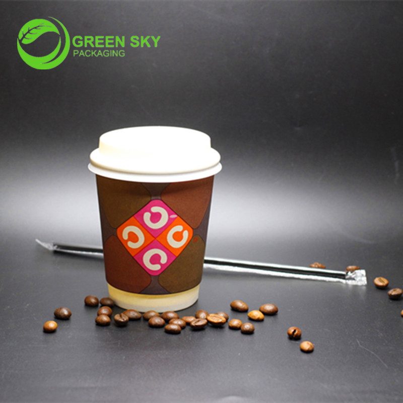 Wholesale Printed Paper Cups  Free shipping  full color paper cups     Compostable Hot Cups