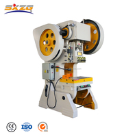 Single hole punching machine, used mechanical power press machine parts, sheet metal hole punch machine