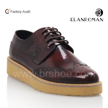 051e2aa3f Más nueva moda joven zapatos suela gruesa zapatos para hombres zapatos de  cuero casual