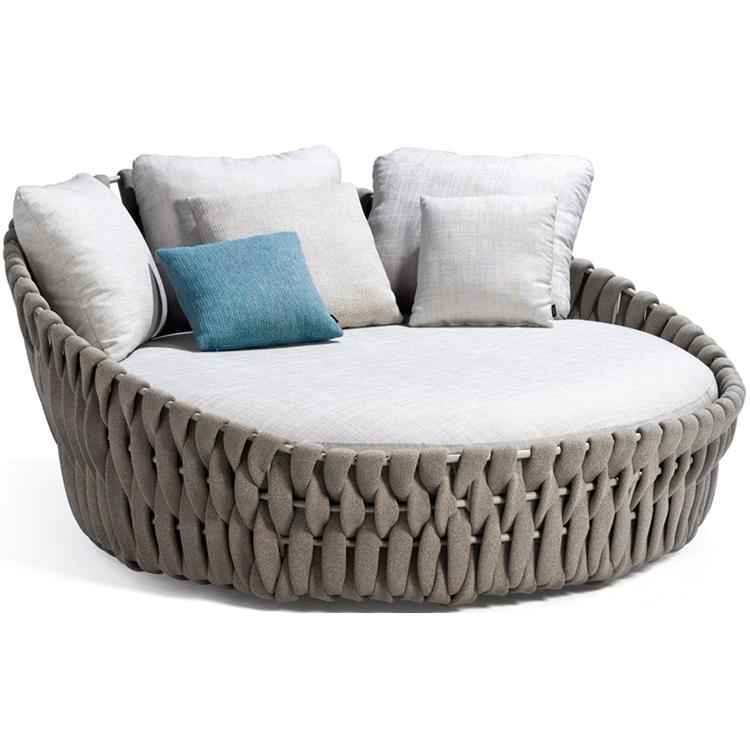 modern oversized rattan bedroom furniture