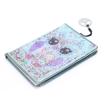 Custom print manufacturers small recycle a5 note book college student Cute Animal Squared Soft exercise notebook for school