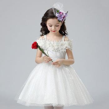 Moins Cher Robe De Mariée Fille Bretelles