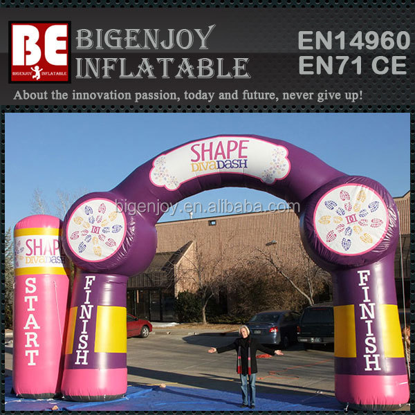 Shape Arch Diva Dash Inflatable Arch